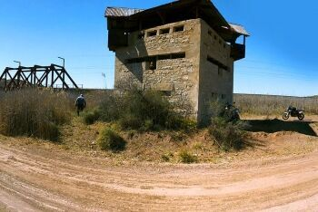 Anglo Boer War blockhouse, Victoria West, Upper Karoo & Hantam Karoo, Northern Cape