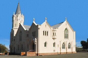 Dutch Reformed Church, Vosburg, Upper Karoo & Hantam Karoo, Northern Cape