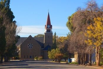 Dutch Reformed Church at Loxton, Upper Karoo & Hantam Karoo, Northern Cape