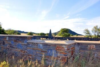 Concentration camp memorial,  Norvalspont, Upper Karoo & Hantam Karoo, Northern Cape