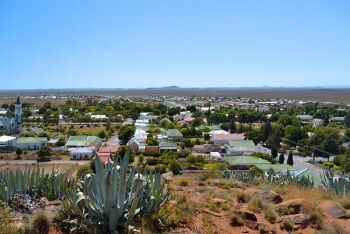 Hanover from Trappieskop, Upper Karoo & Hantam Karoo, Northern Cape