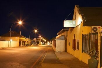 Colesberg night scene, Upper Karoo & Hantam Karoo, Northern Cape