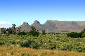 The Three Sisters hills, Upper Karoo & Hantam Karoo, Northern Cape