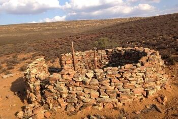 Fort Steenbok, fortifications built by the British, Sutherland, Upper Karoo & Hantam Karoo, Northern Cape
