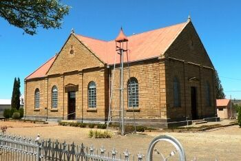 Dutch Reformed Church at Philipstown, Upper Karoo & Hantam Karoo, Northern Cape